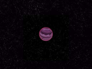 Artist's conception of PSO J318.5-22